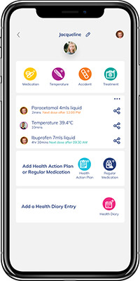 FamilyHQAppHomePageMedical