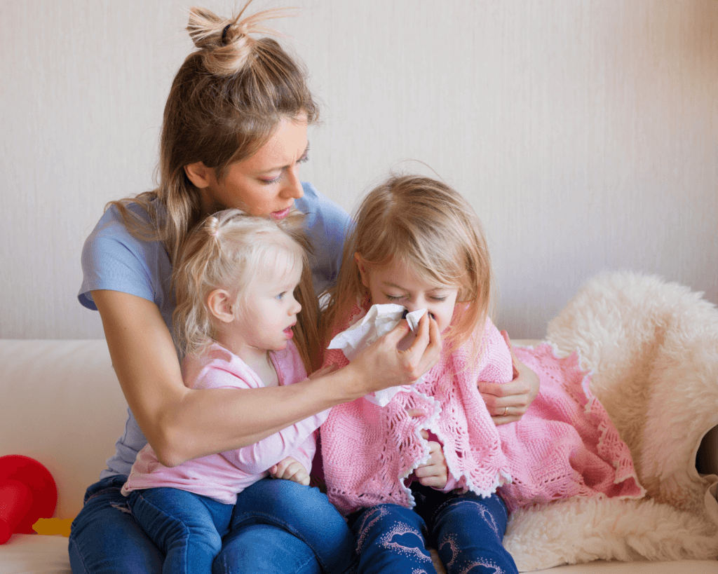 baby and toddlers coughs and colds how to manage winter when they are sick