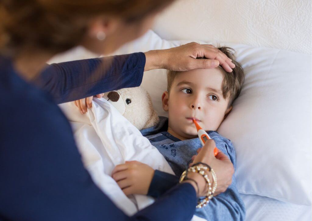 Fever in babies and children